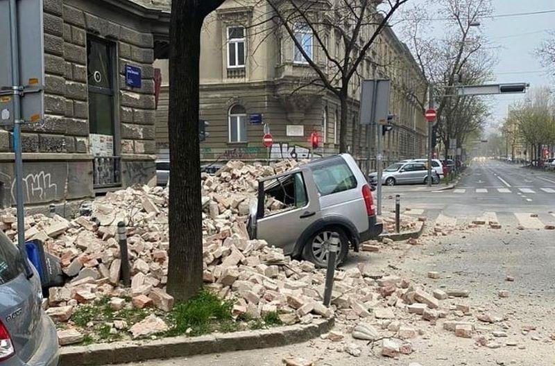 Jak Potres Pogodio Zagreb Itekako Se Osjetio U Bjelovaru Pripremite Se Na Jos Nekoliko Manjih Bjelovar Live